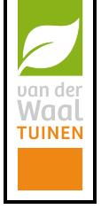 Van der Waal tuinen logo