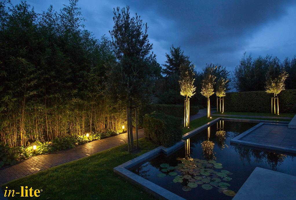 tuinverlichting in-lite® Van der Waal Tuinen Hoeksche Waard