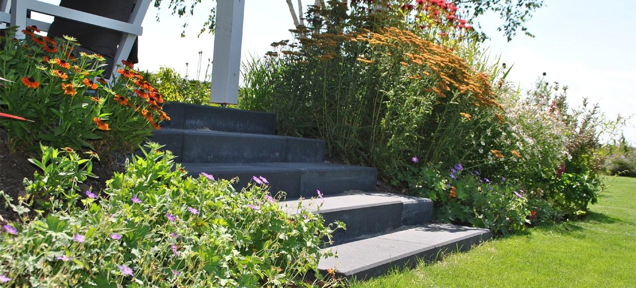 tuinaanleg tuinontwerp Van der Waal Tuinen - slider