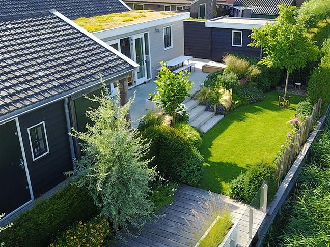 Tuinaanleg Hoeksche Waard - Van der Waal Tuinen hoveniersbedrijf