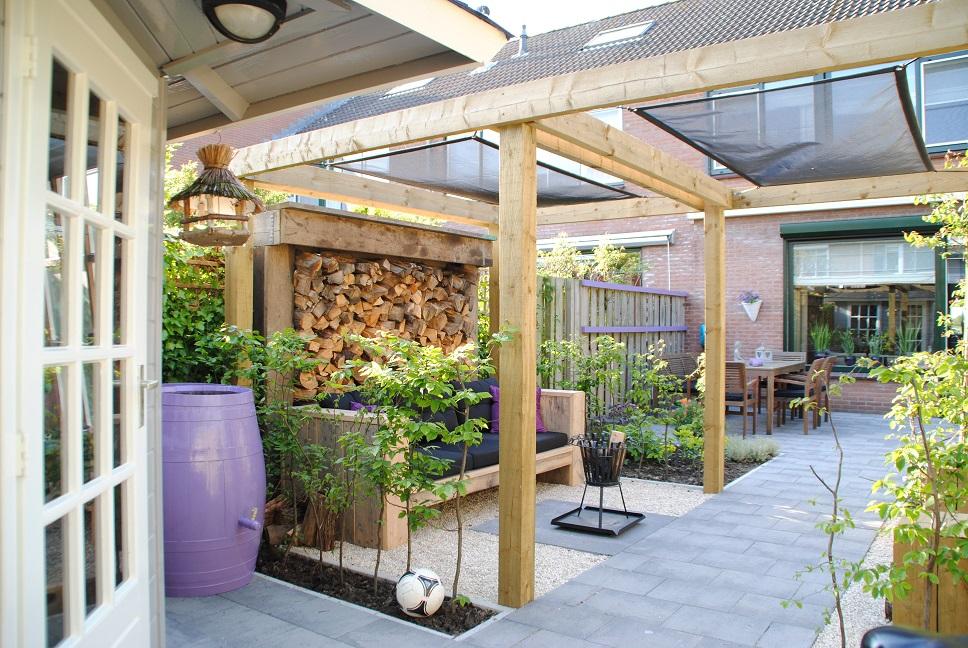 Tuinontwerp kleine tuin in piershil van der waal tuinen for Tuinontwerp stadstuin