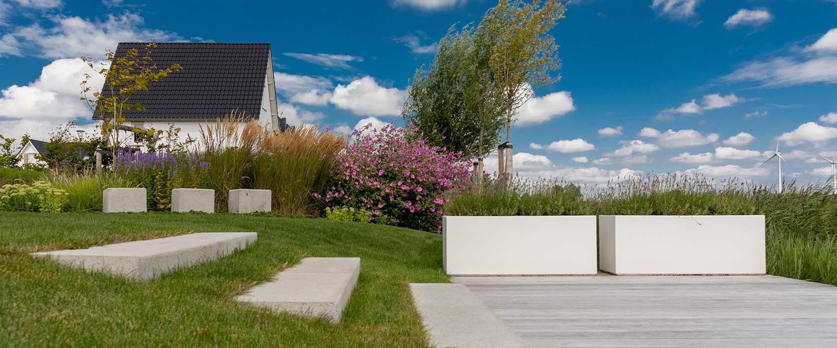 Tuinontwerp tuindesign Goudswaard Van der Waal Tuinen